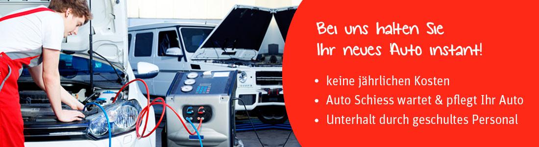 Fahrzeug-Garantie: Bei uns halten Sie ihr neues Auto Instant