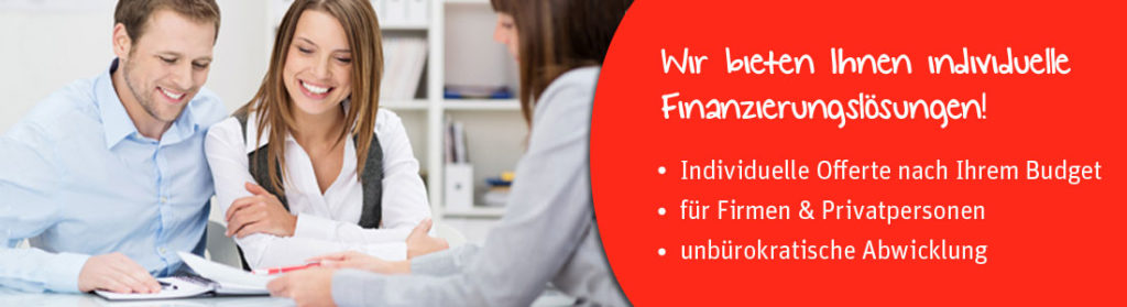 Finanzierung, Leasing, Kredit, Beratung